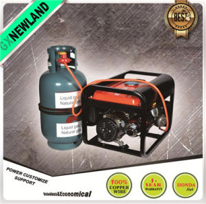 LPG Gasoline Generator Portable Natural Gas Generator pictures & photos