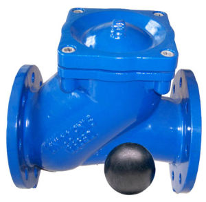 Epoxy Coating Ball Check Valve pictures & photos