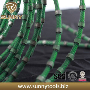 Plastic Coating Marble Stone Quarrying Diamond Wire Saw pictures & photos