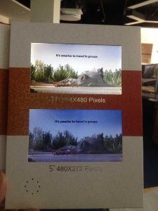 "Wholesales Digital 5"" Inch HD LCD Screen Video Brochure for Advertising pictures & photos"