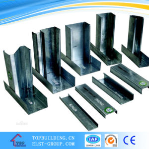 C Stud/U Channel for Gypsum Partition System/Partition Steel Frame Work pictures & photos