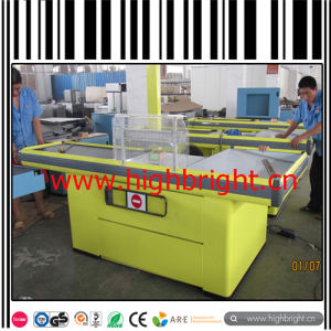 Stainless Steel High Quality Cashier Counter Table for Shopping Center pictures & photos
