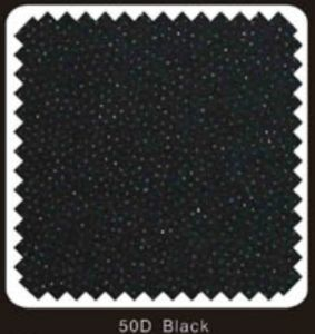 Black Color Woven Double DOT Fusible Interlining (50D black) pictures & photos