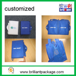 Reusable Non Woven Folding Shopping Bag Tote Bag pictures & photos