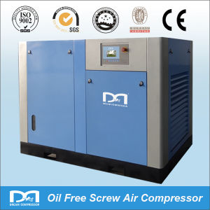 Oil Less Water Lubricated Electric Oil Free Screw Air Compressor pictures & photos