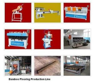 Bamboo Floor Flooring Tile Making Laminating Press Machine Manufacturing Line Plant
