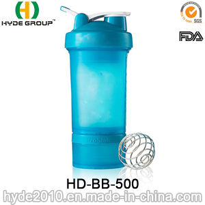 450ml Custom Sports Protein Blender Water Bottle, BPA Free (HD-BB-500) pictures & photos