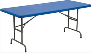 6FT Adjustable-Height Molded Plastic Top Table pictures & photos