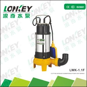 Sewage Submersible Pump with knife pictures & photos