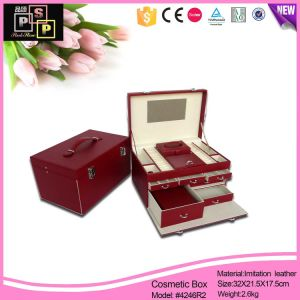 Jewelry Box with PU Leather Box (4246R2) pictures & photos
