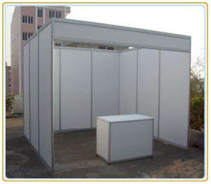 Standard Exhibition Booth with Octangle Aluminum Extrusion pictures & photos