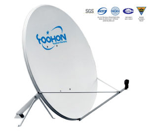 1.5m Offset Satellite Dish Antenna with 500 Hours UV Certification pictures & photos