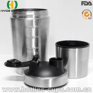 Popular New Material Stainless Steel Protein Shaker Bottle (HDP-0598) pictures & photos