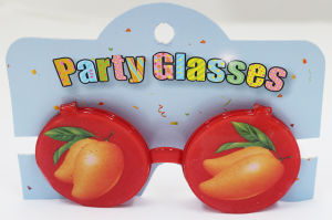 Party Glasses with Covers Lemon