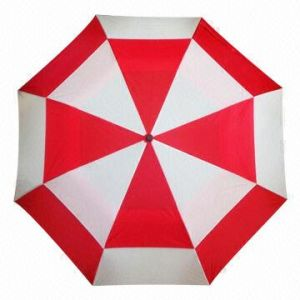 Golf Umbrella, Double Canopy Golf Umbrella (BR-ST-187) pictures & photos