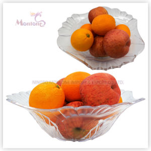 322g 32cm Plastic Fruit Plate/Dish, Fruit Serving Tray, Fruit Bowl pictures & photos