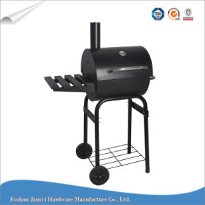 Classic Black Color Small BBQ Trolley Barbeque Grill -Z