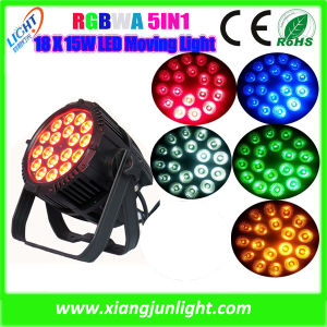18X15W RGBWA 5in1 Clay Packy LED PAR Can Light pictures & photos