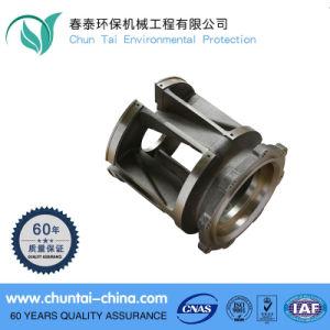 CNC Brass Water Pump Parts Impeller Housing