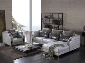 European Style Sex Furniture Leather Sofa Sets pictures & photos