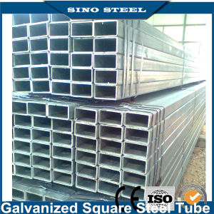 Q195 Q235 Carbon Steel Hollow Section Galvanized Steel Pipe pictures & photos