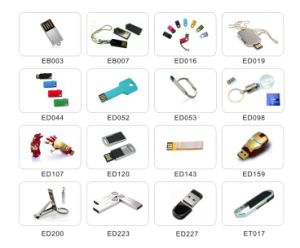 Promotion USB Flash Disk with Keyring (EP014) pictures & photos