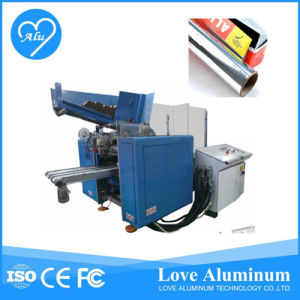 Full Automatic Paper Rewinding and Cutting Machine for Wax pictures & photos