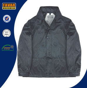 Navy 2-Piece Waterproof Rain Suit
