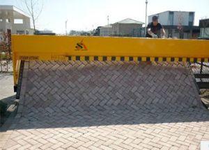 Road Using Block Paving Machine pictures & photos