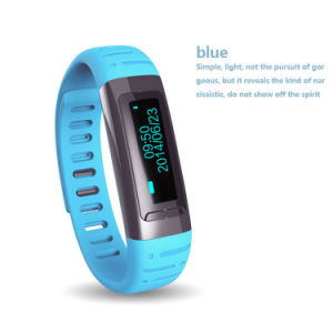 Gelbert Bluetooth Smart Sports Bracelet with Intelligent Burglar Alarm pictures & photos