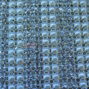 Crystal Mesh Roll 10yds Per Roll 24 Rows pictures & photos