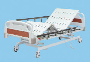 Three Functions Hospital Electric Adjustable Bed pictures & photos