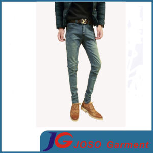 Elastic Fitted Skinny Fashion Jeans for Men (JC3394) pictures & photos