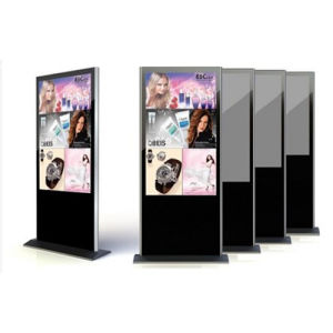 High Quality Cabinet Type Stand-Alone Advertising Machine pictures & photos