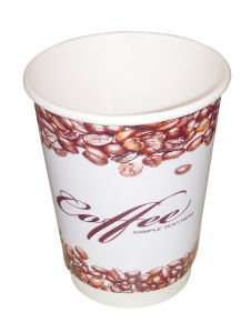Disposable Paper Coffee Cup Custome Logo Design Printed
