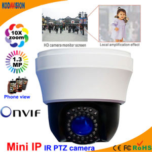 Indoor 1.3 Megapxiel Mini IP PTZ Camera pictures & photos