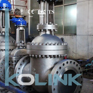 Cast Steel Gate Valve Gear Operation High Pressure pictures & photos
