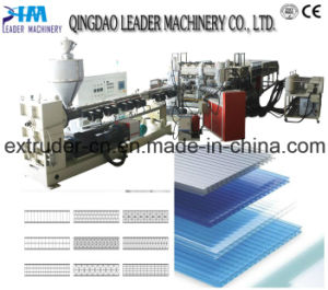 PC Cross Section Sheet Extrusion Line Machine pictures & photos