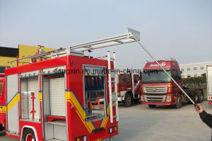Aluminum Step Ladder for Fire Truck pictures & photos
