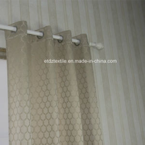 Top Quality Polyester Shrinkage Yarn Curtain Fabric pictures & photos