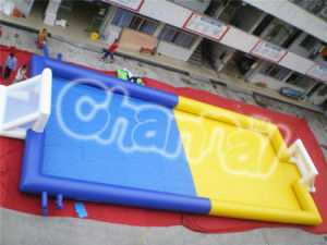 Inflatable Football Field, Inflatable Soap Soccer Field (chsp114) pictures & photos