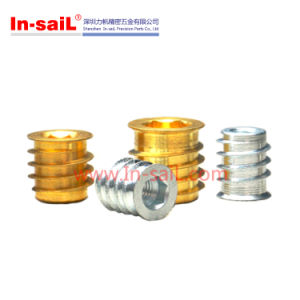 Internal Hexagon Threaded Self-Tapping Threaded Insert pictures & photos