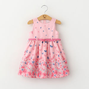 2017 Summer Style Children Sleeveless Dresses pictures & photos