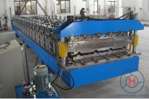 Roof Sheet Making Machine / Double Layer Roll Forming Machine pictures & photos