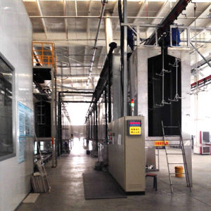 Overhead Continuous Painting Line with Curing Oven pictures & photos
