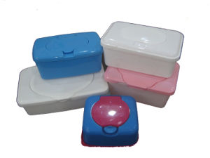 Different Plastic Container for Wet Wipes Baby Wipes pictures & photos