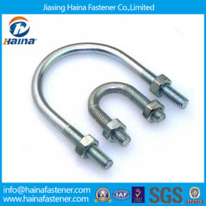 Zinc Plated Carbon Steel U Bolt with Two Nuts pictures & photos