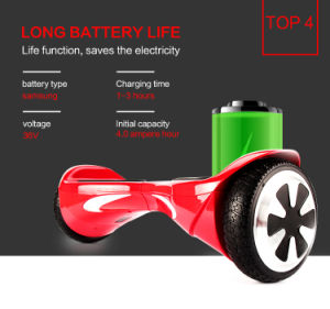 Iohawk Hover Board Self Balancing Scooter with Samsung Original Battery with UL/BS Charger pictures & photos