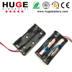 1.5V 2 options AAA battery holder switch pictures & photos
