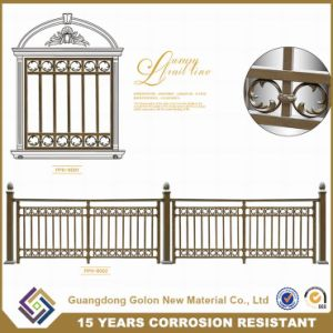 Simple Wrought Iron Galvanized Steel Security Panel Fencing pictures & photos
